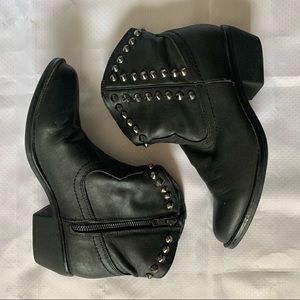 Mossimo studded cowgirl booties